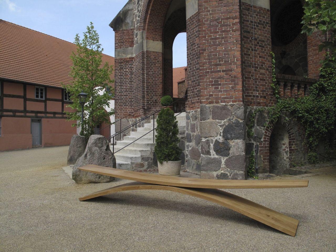 Garten Bank / Modern / Aus Eiche   WIPPBANK   Shallow Swing
