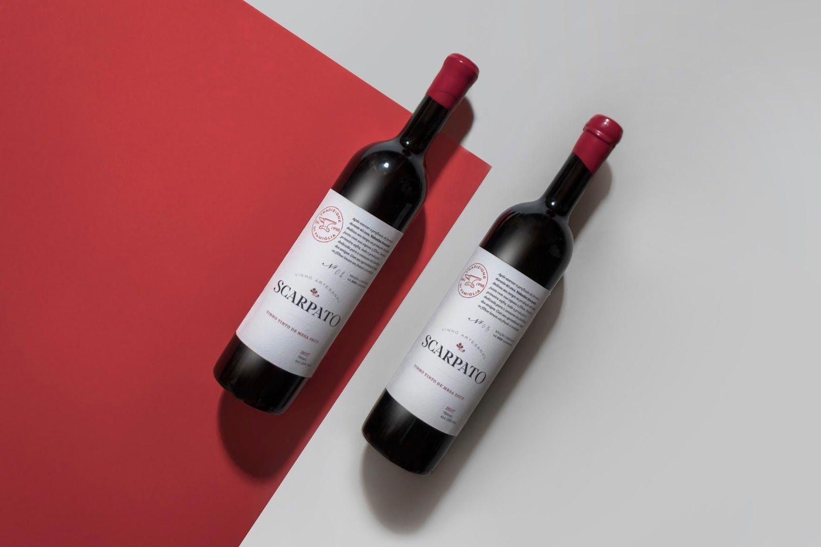 Scarpato Wine On Packaging Of The World Creative Package Design Gallery Winebrands Wine Gifts Wine Bottle Carrier Wine And Spirits