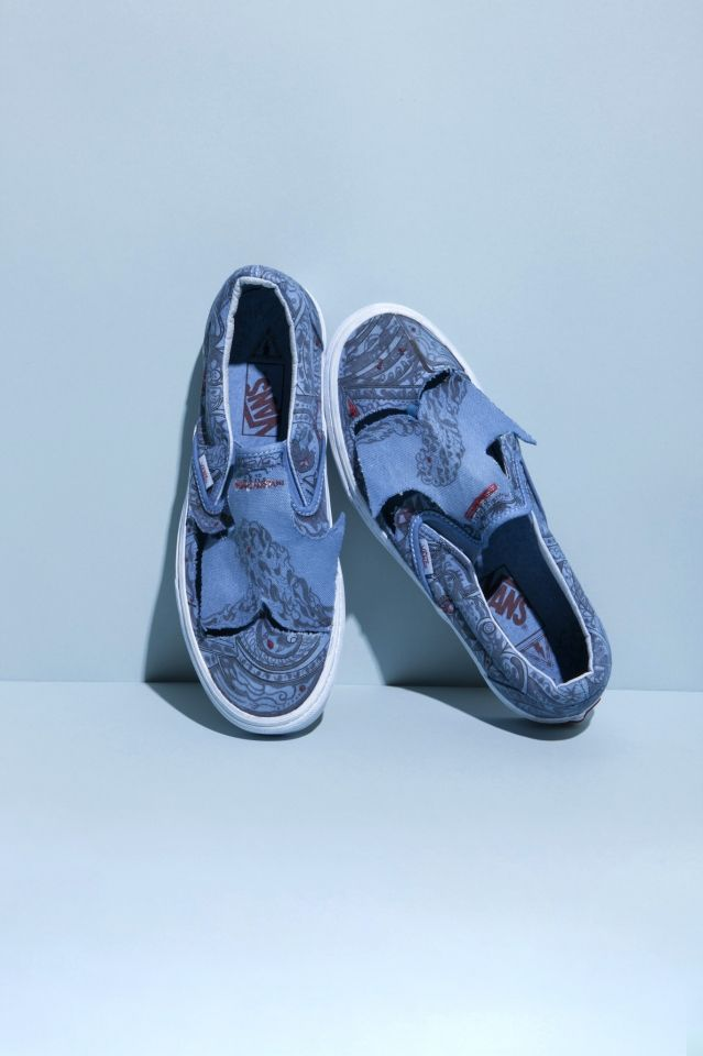 f07b8e7cca0e0c Classic Slip-On Gets A Unique Makeover In Vans x Marc Jacob Summer  Collection