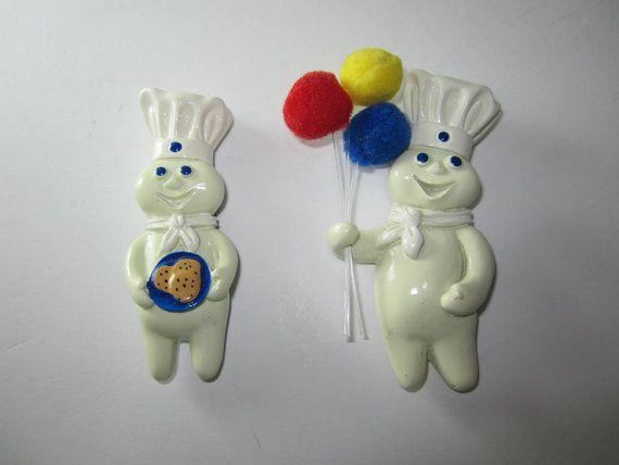 MAGNET ADVERTISING Pillsbury Poppin Fresh Doughboy