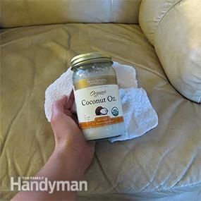 How to Clean Leather Furniture Stains with Natural ...