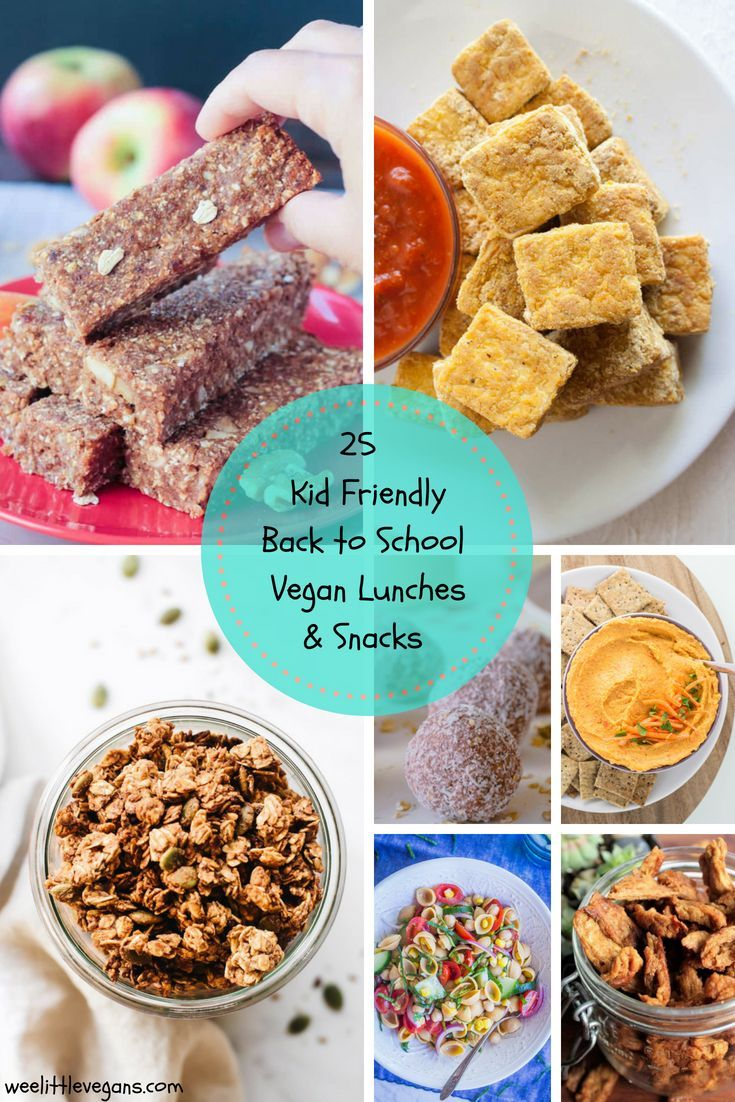 Kid Friendly Back To School Vegan Lunches And Snacks