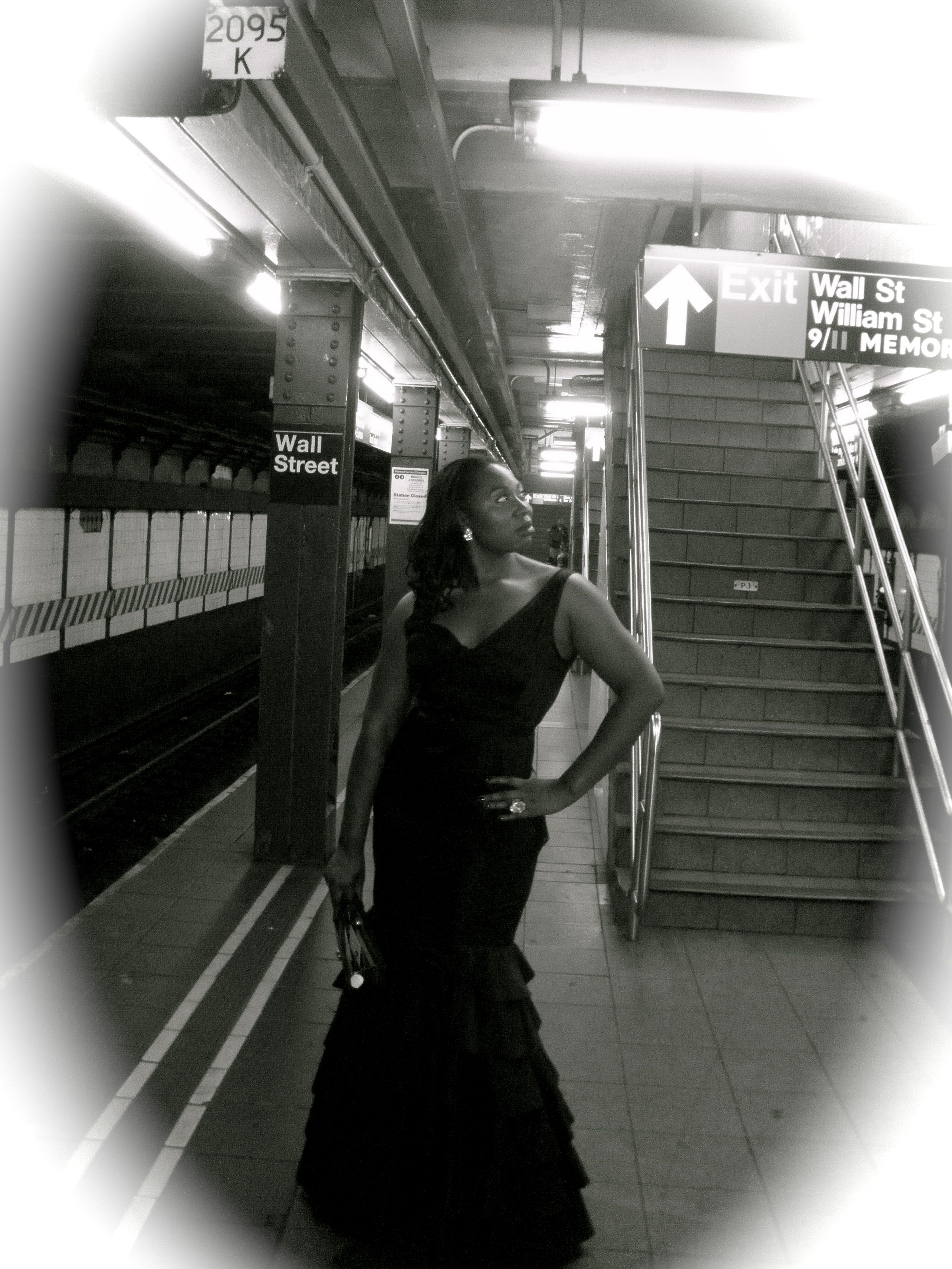 It was a a very fun party...and then I took the train home.