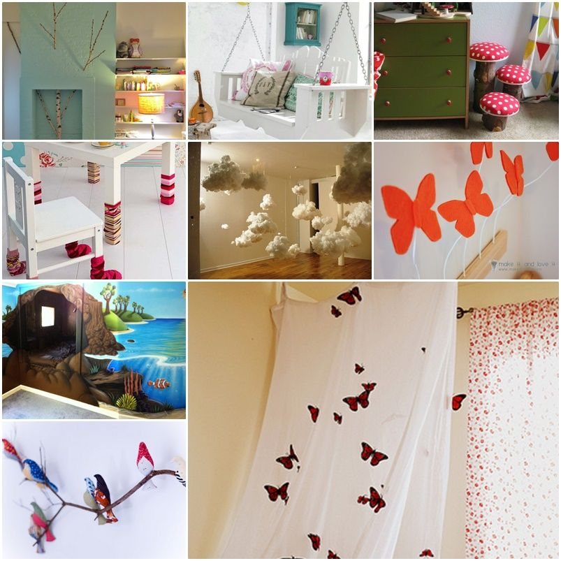 Marvelous 20 Cool DIY Ideas To Turn Your Kids Bedroom Into Fairytale