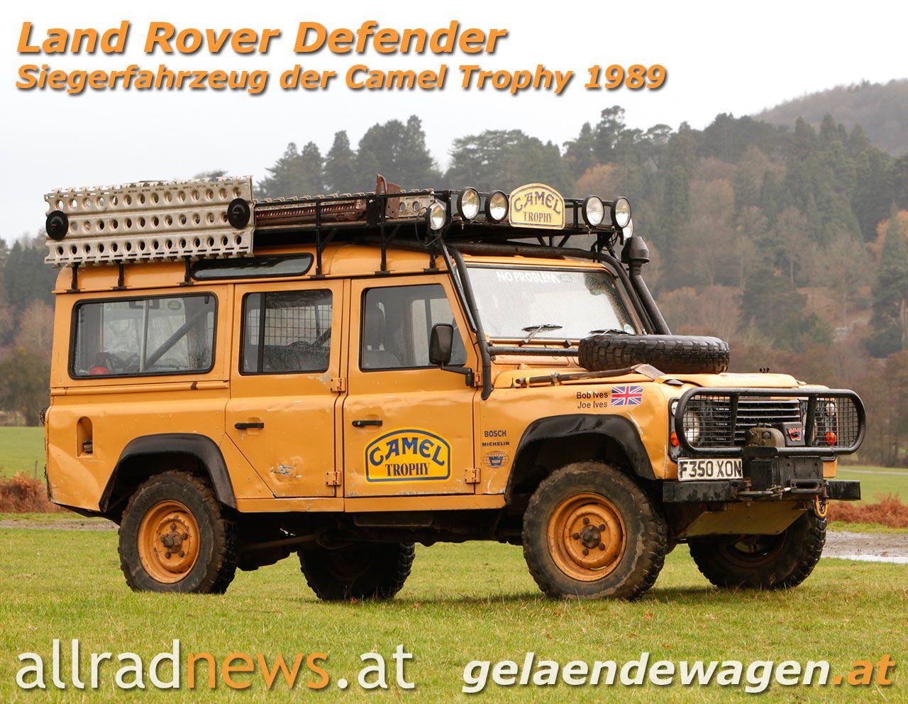 Camel Trophy 110 My Dream Garage Land Rover Defender
