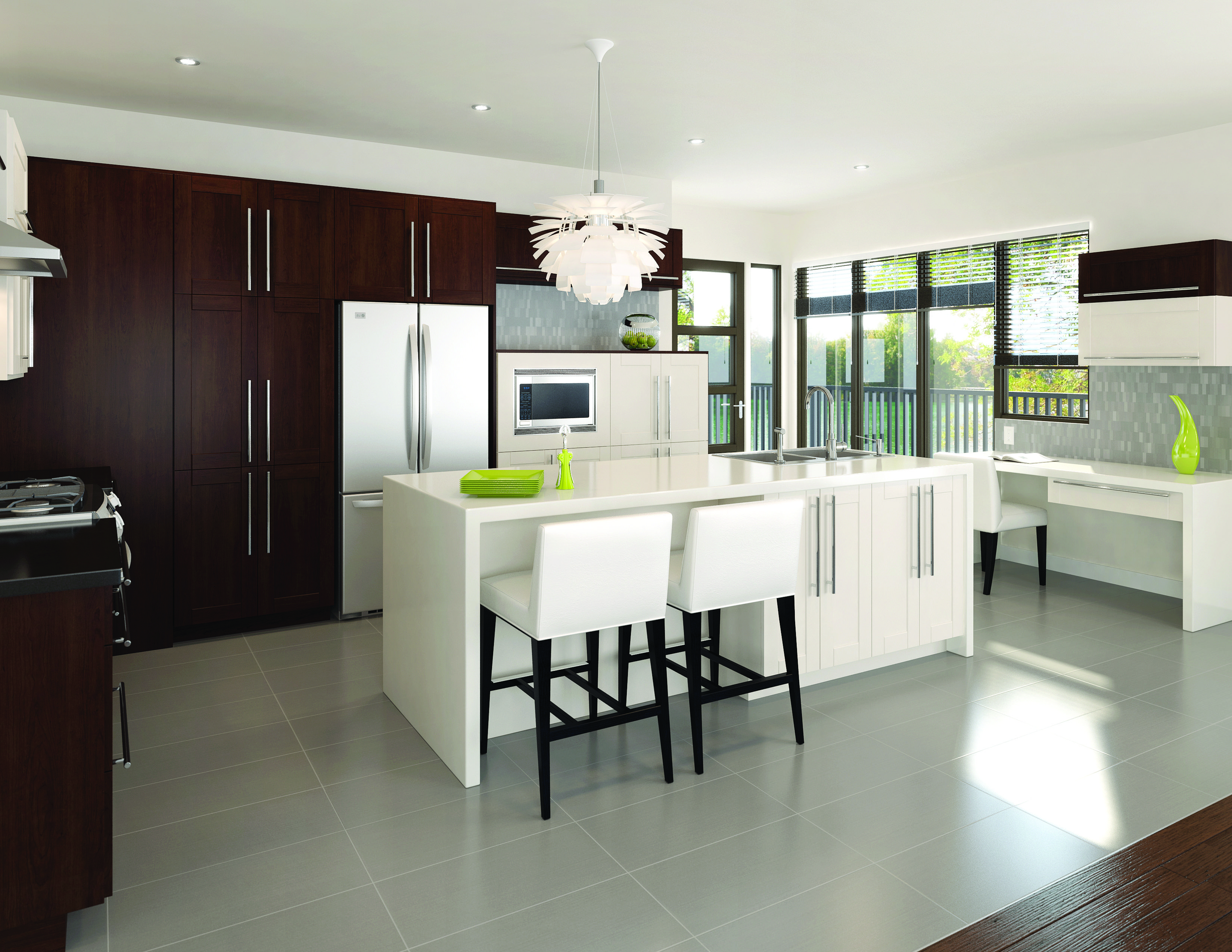 Contemporary Kitchen From Fabritec Instant #fallidays #kitchen Awesome Design My Kitchen Home Depot Review