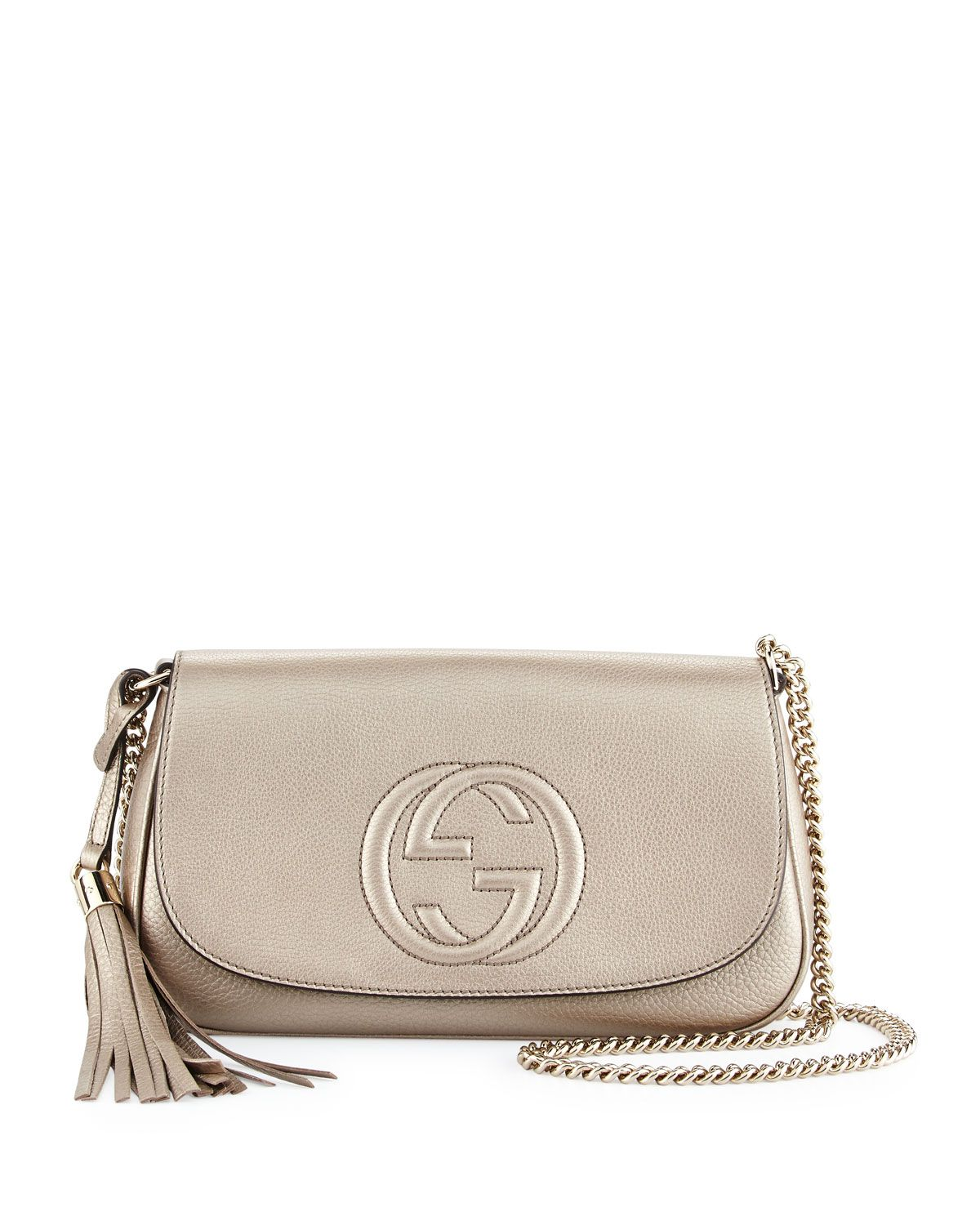 1137d5b38 Gucci Soho Metallic Crossbody Bag, Gold, Newgold | *Handbags ...