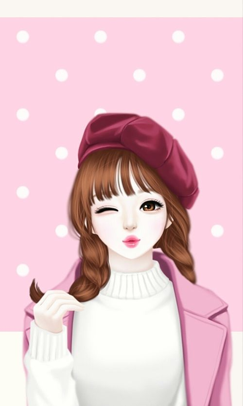 Pin On Korean Girl Art