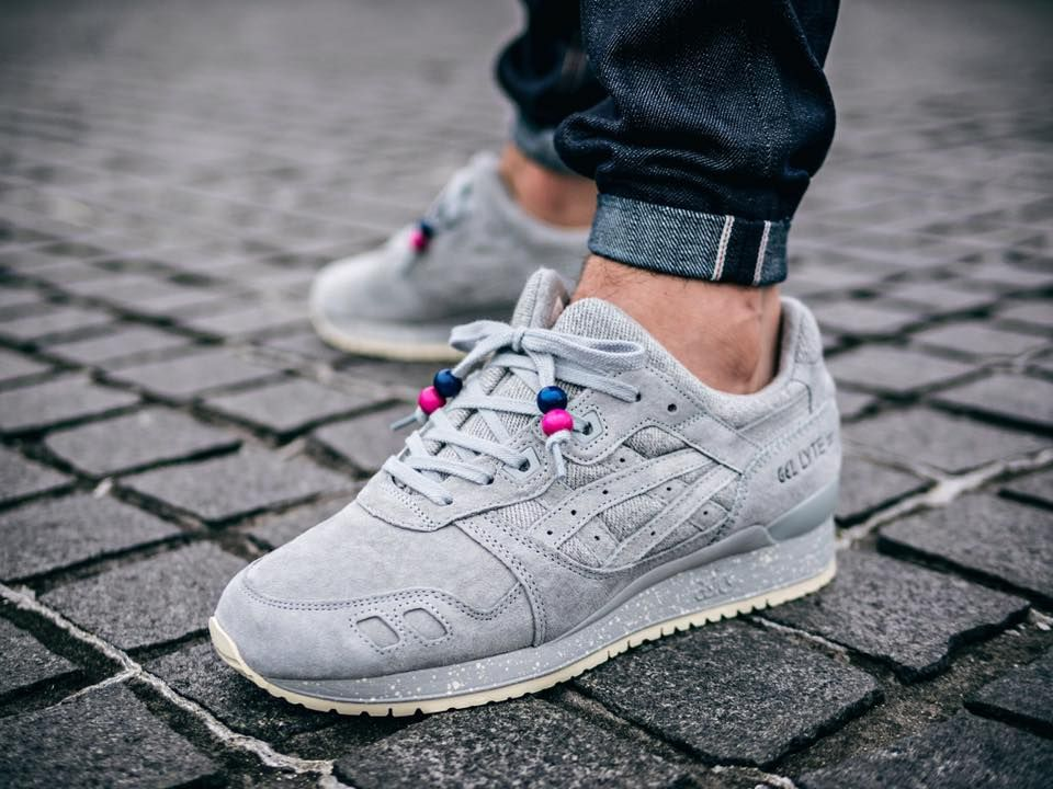 8e8a4693493d Reigning Champ x Asics Gel Lyte III - Grey (by lucasblackman ...