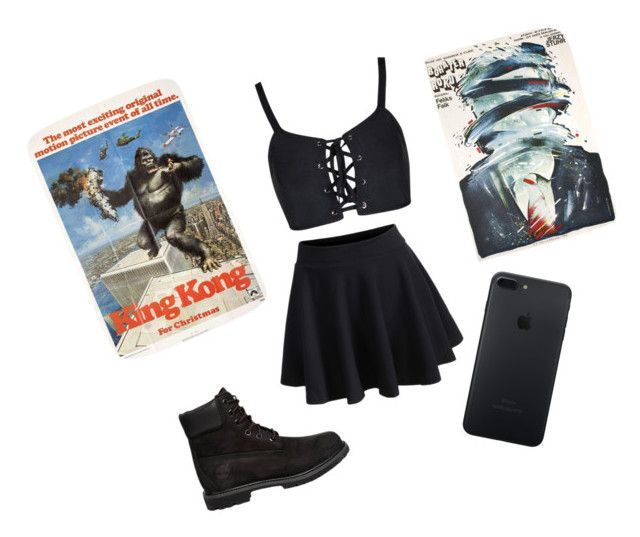 """""""NYC"""" by sinai05 on Polyvore featuring WithChic and Timberland"""