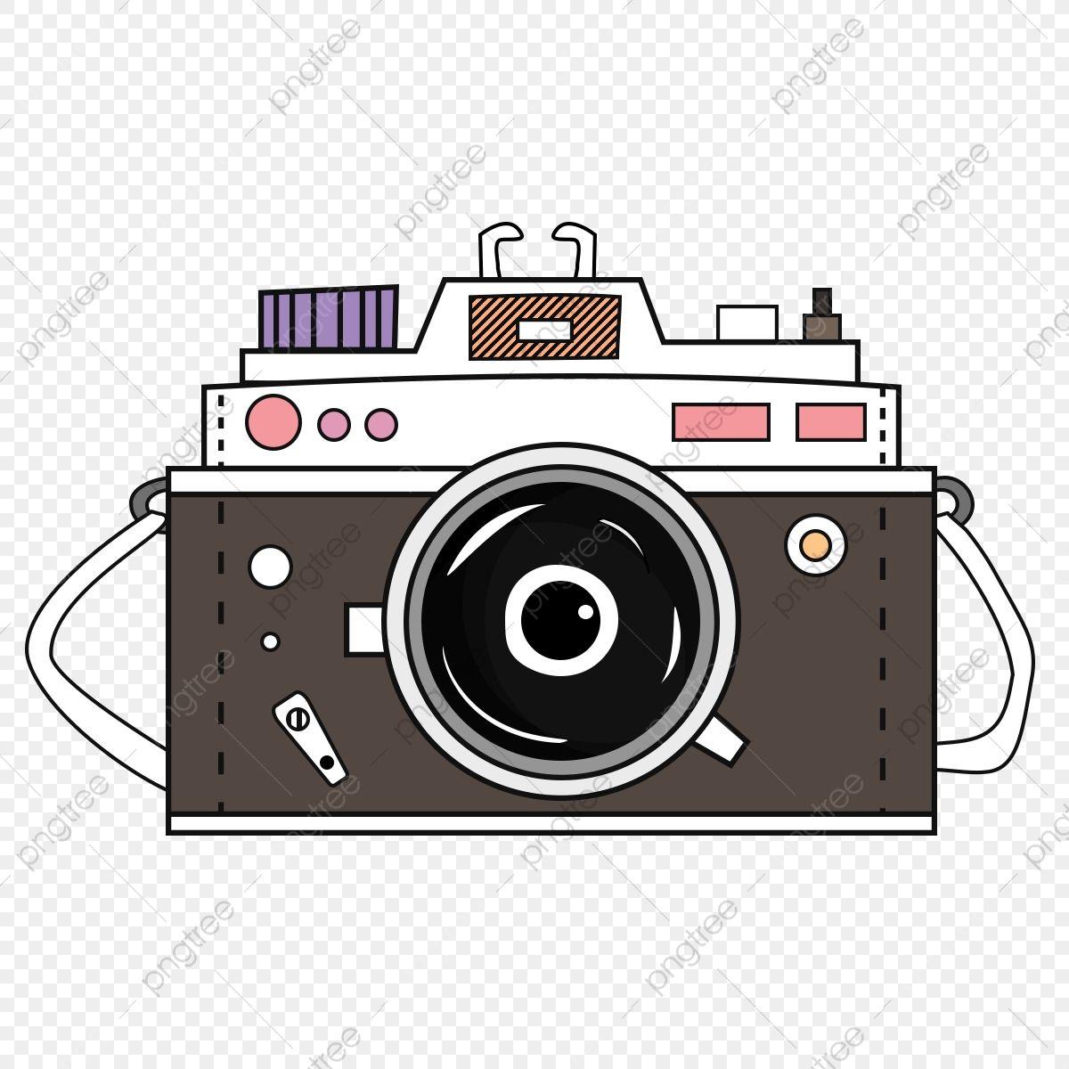 Gambar Cute Retro Foto Kamera Kartun Gaya Ilustrasi Clipart Kamera Png Gambar Kamera Png Dan Psd Untuk Muat Turun Percuma Kartun Kamera Ilustrasi