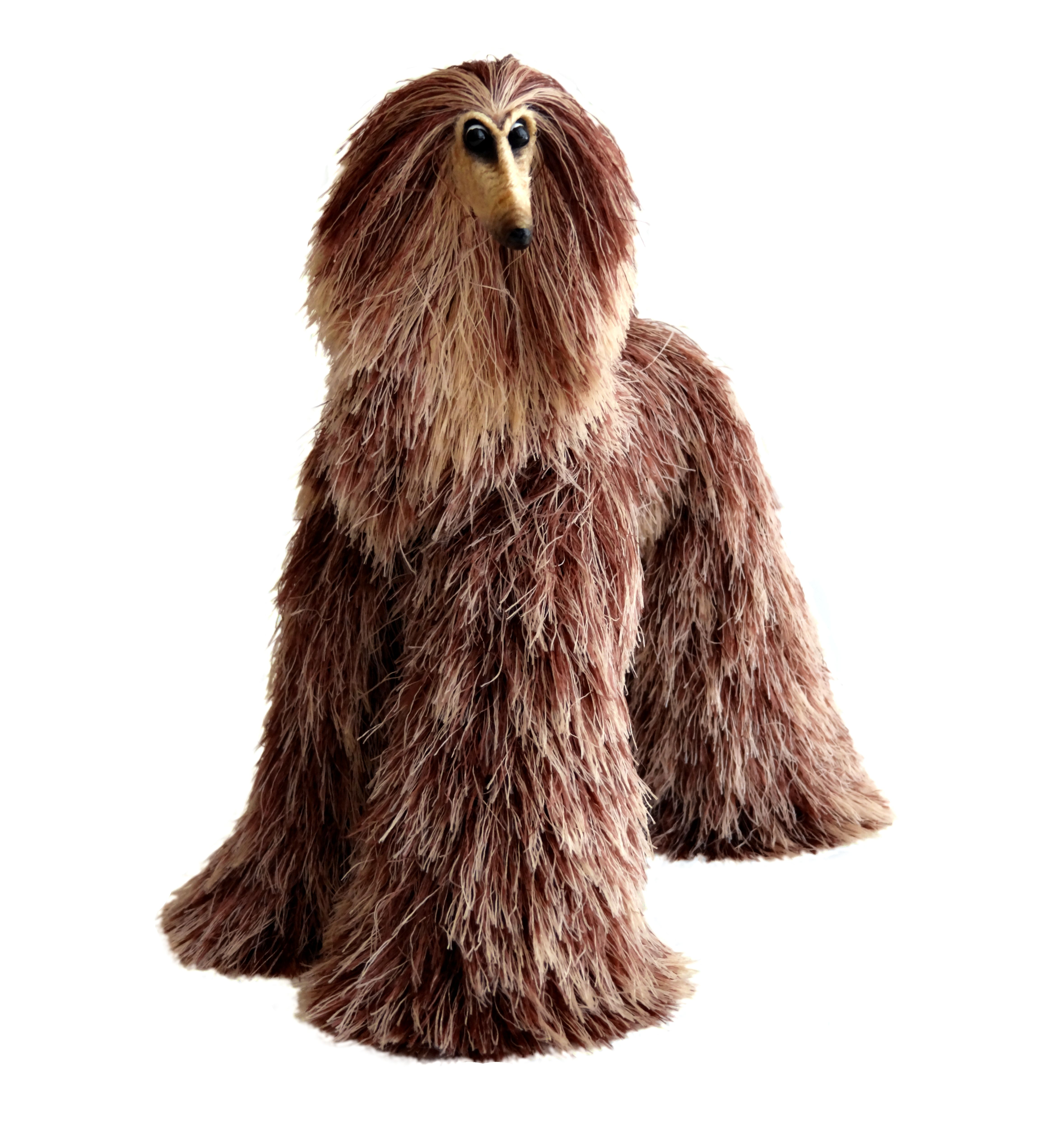 Details About Collectibles Animals Brown Beige Afghan Hound Cute Plush Mini Toy Stuffed Animal Cute Plush Pet Toys Miniature Dogs