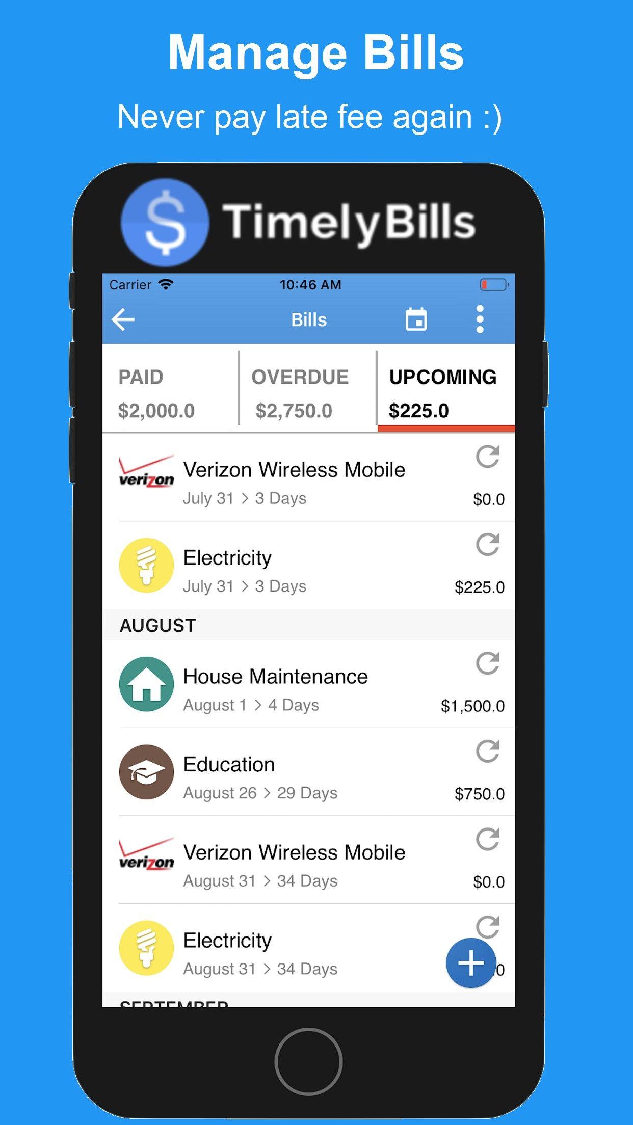 Best Bill Reminder App in 2020 Bill reminder app