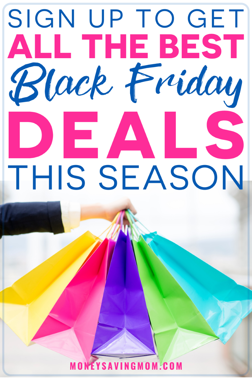 Save On Holiday Shopping With all These HOT Black Friday Deals!! Never miss a HOT deal during the holiday shopping season with deals coming directly to your inbox! #blackfriday #blackfridaydeals #holidaydeals #savingmoney #blackfridaydeals #christmasdeals #savingmoneyonchristmas #christmasshopping