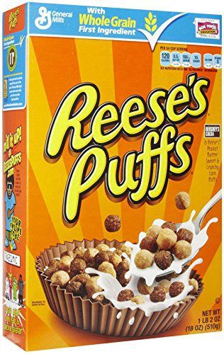 Pin By Sleepy Chef On Sleepychef Puffs Cereal Food Reese S Puffs