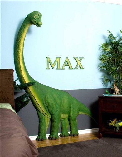 Beetling Brachiosaurus Dinosaur 3d Wall Art Decor Art Wall Kids Dinosaur Theme Bedroom Dinosaur Room Decor