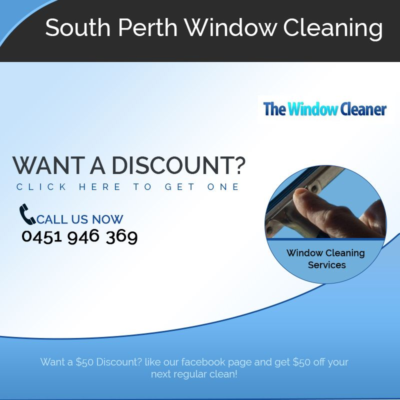 At South Perth Window Cleaning, we possess qualified resources and diligent personnel, enabling us to achieve maximum customer satisfaction when performing window cleaning for commercial and domestic premises. We are based in Perth and cover the entire city under our services. See more at- http://www.southperthwindowcleaning.com.au Address: 1a Johanson Promenade, Murdoch, WA 6150 Australia Phone No: 0451946369