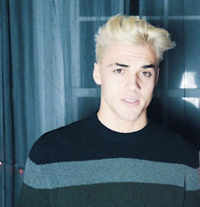 Grayson Dolan Blonde Hair