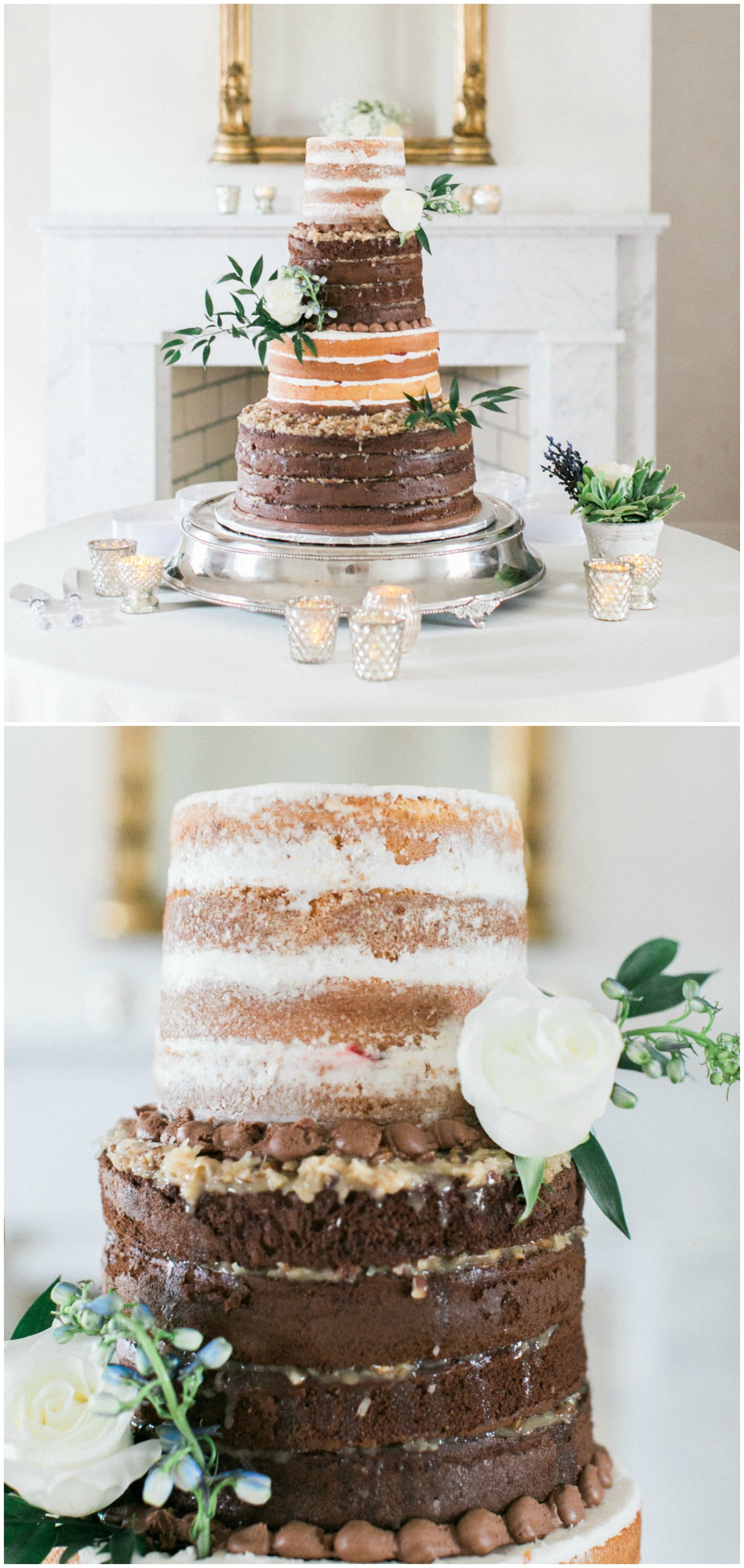 The Smarter Way to Wed | Tall wedding cakes, Wedding cake and White ...
