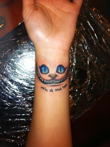 30 Alice In Wonderland Tattoo Designs With Meaning With Images