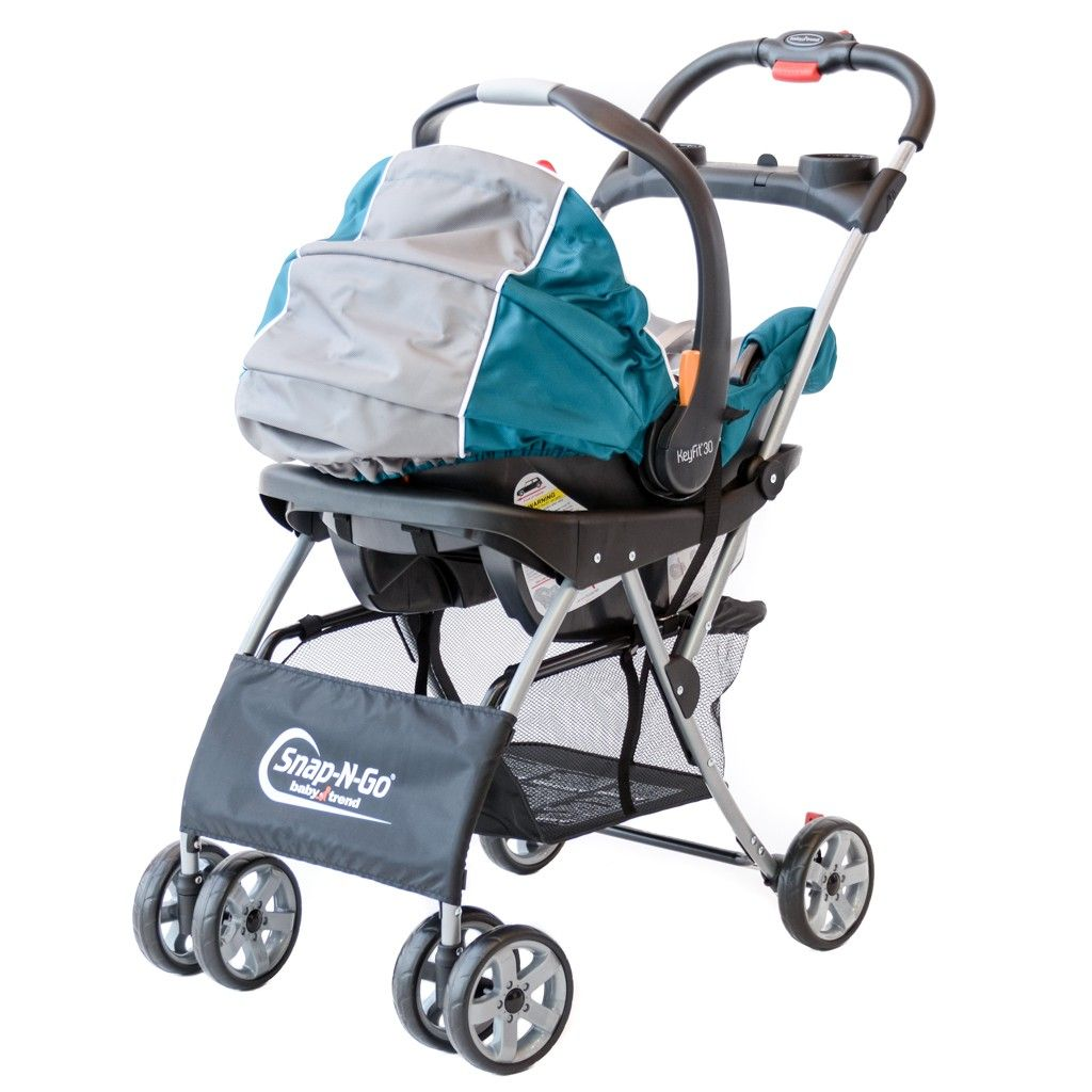 Snap And Go Double Stroller With Toddler Seat in 2020
