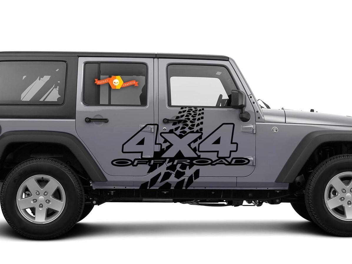 hood jeep Blackout decal Slim star black out Fits wrangler jk 2007-2018 07-18