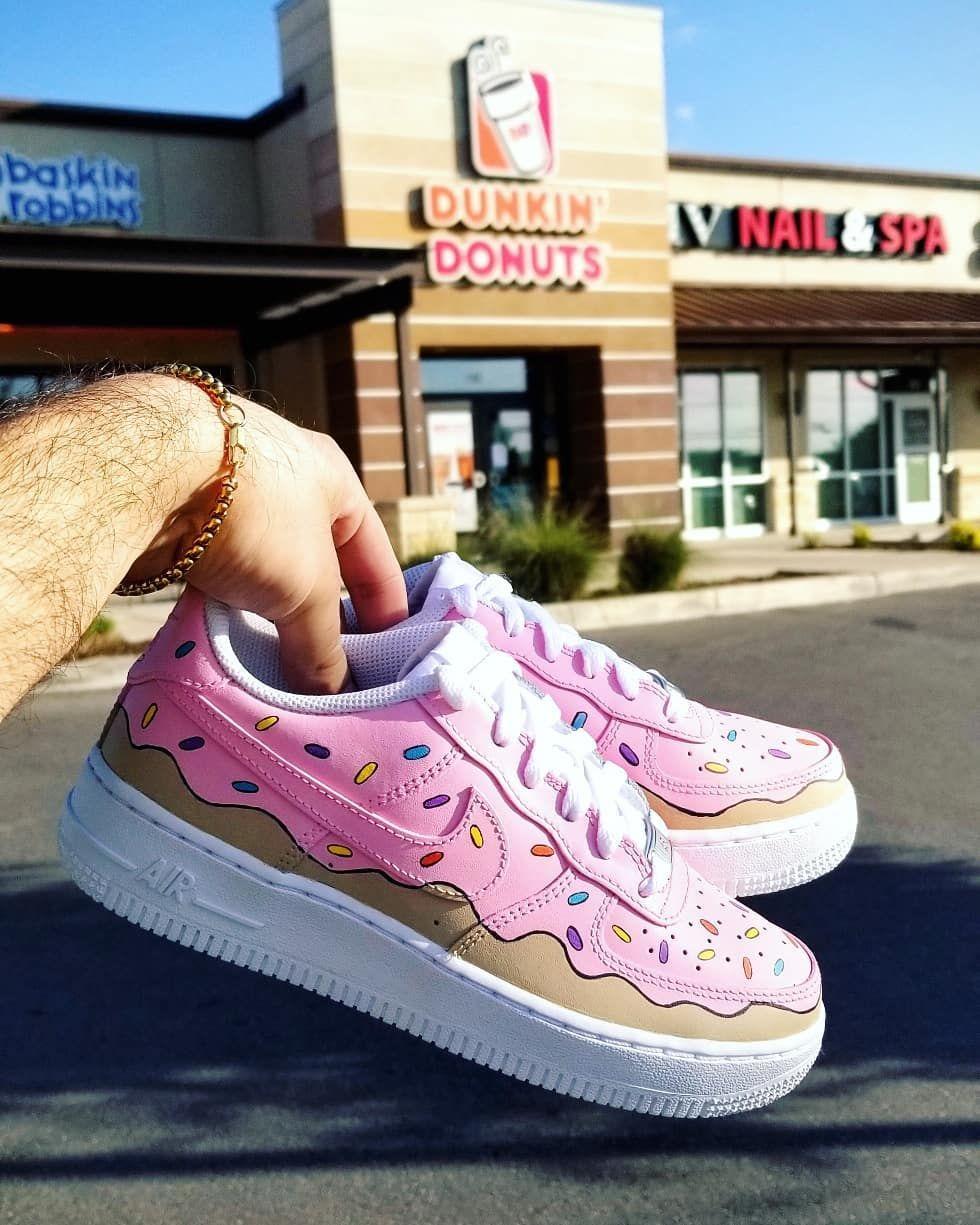 air force 1 dunkin donut