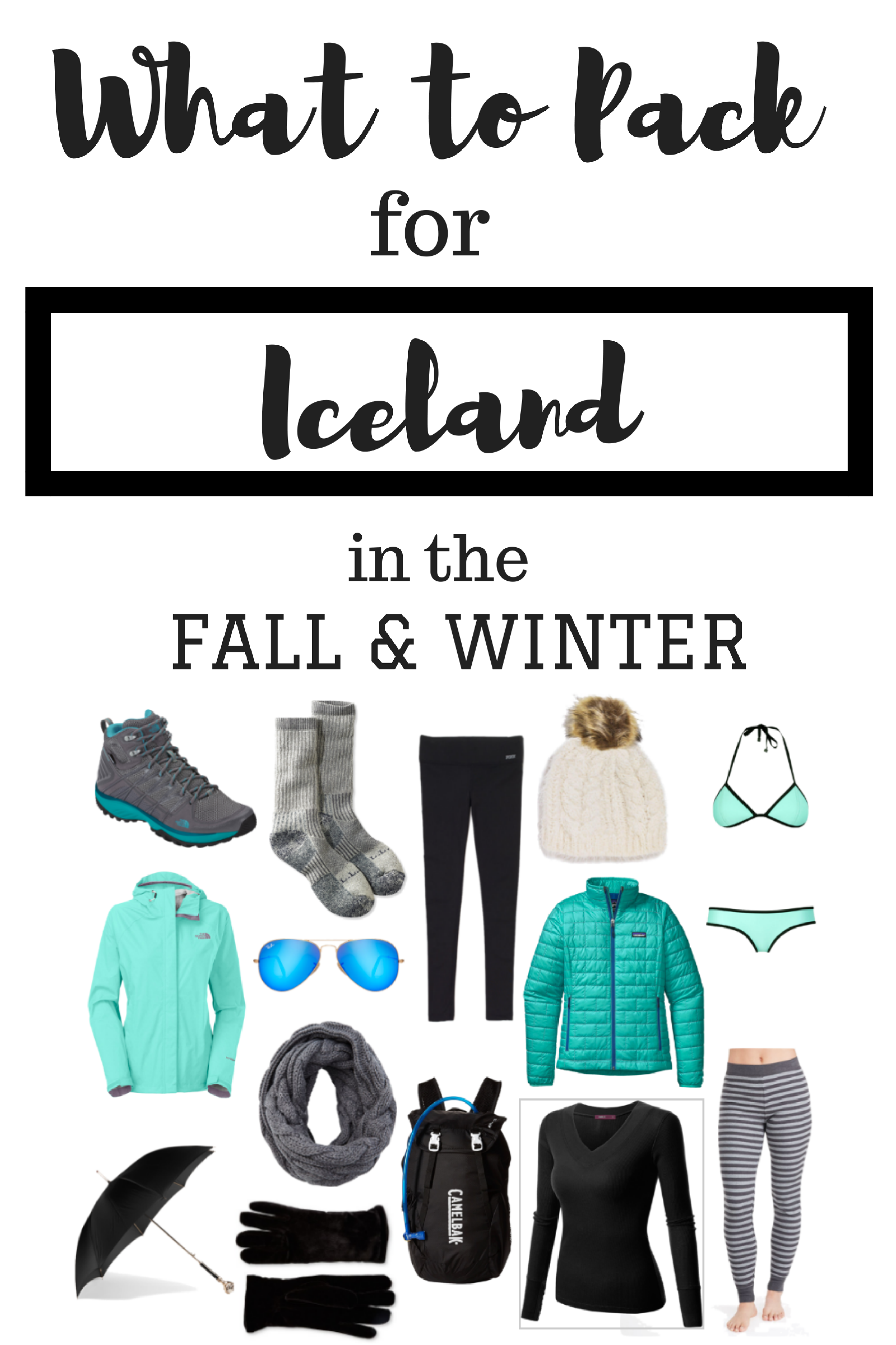 What to Pack for Iceland in Fall & Winter | European ...