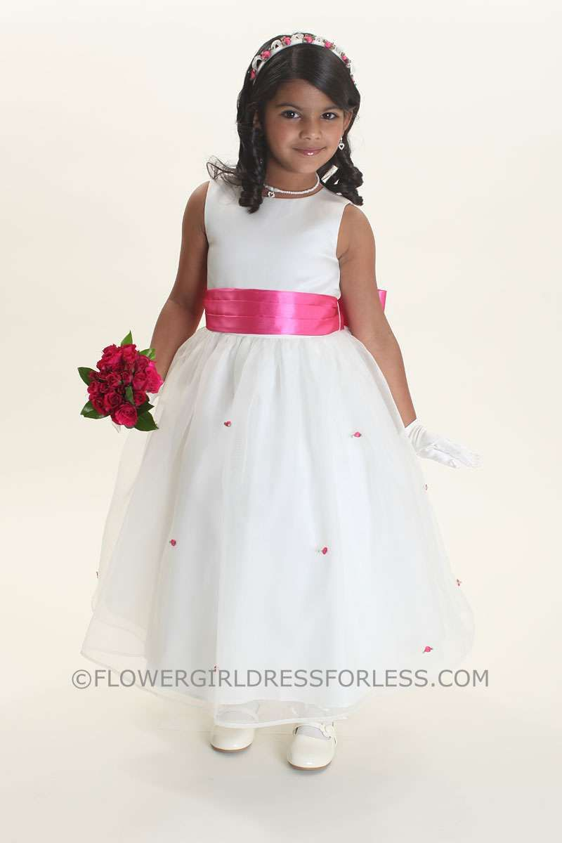 Build your own wedding dress  Us Angels Flower Girl Dress Style  BUILD YOUR OWN DRESS