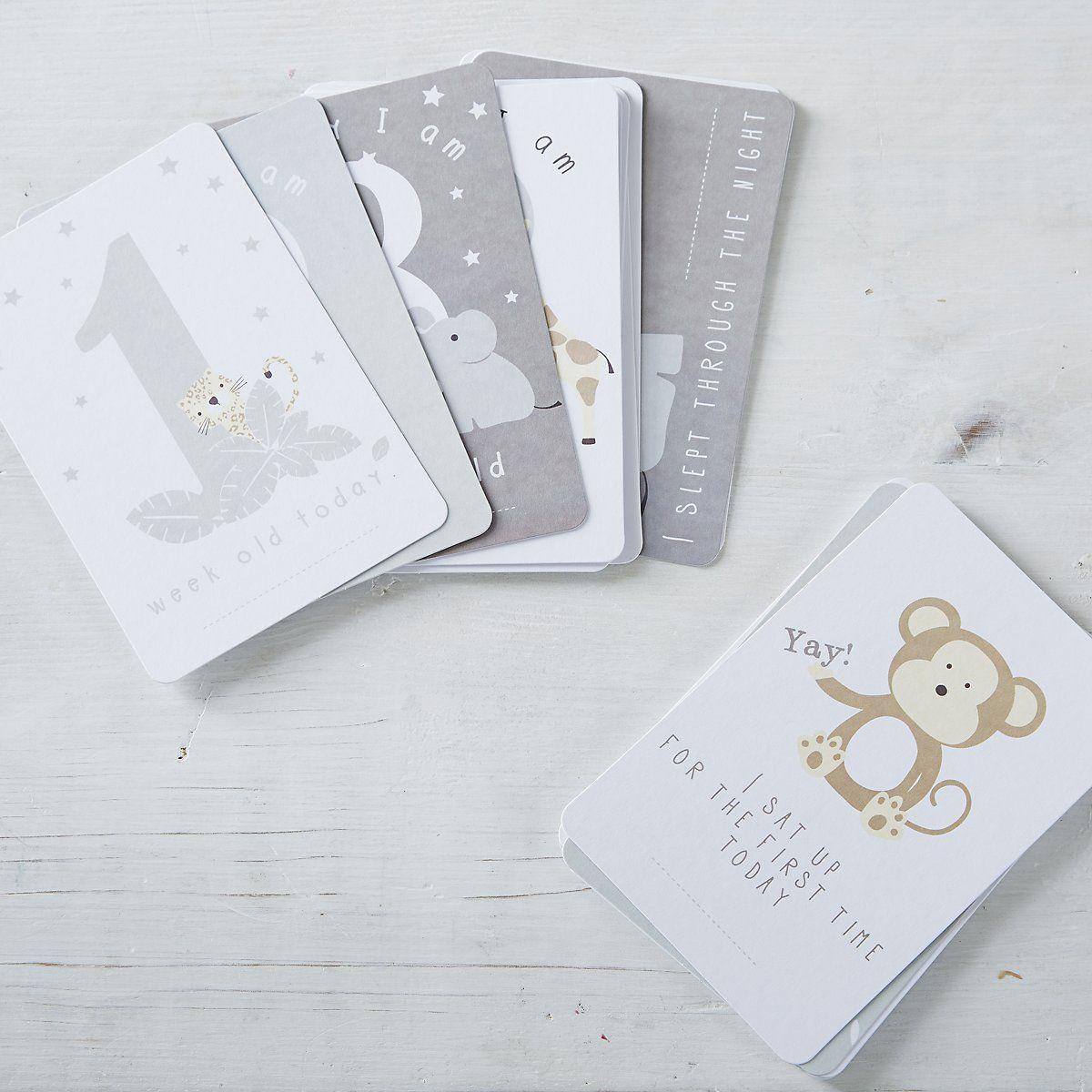 Baby milestone cards the white company uk all about cards baby milestone cards the white company uk kristyandbryce Choice Image