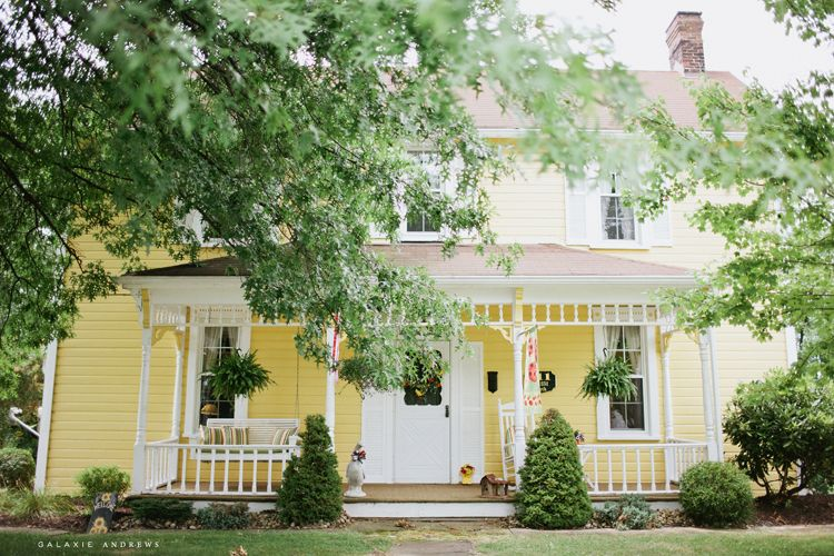 A Pretty Yellow House