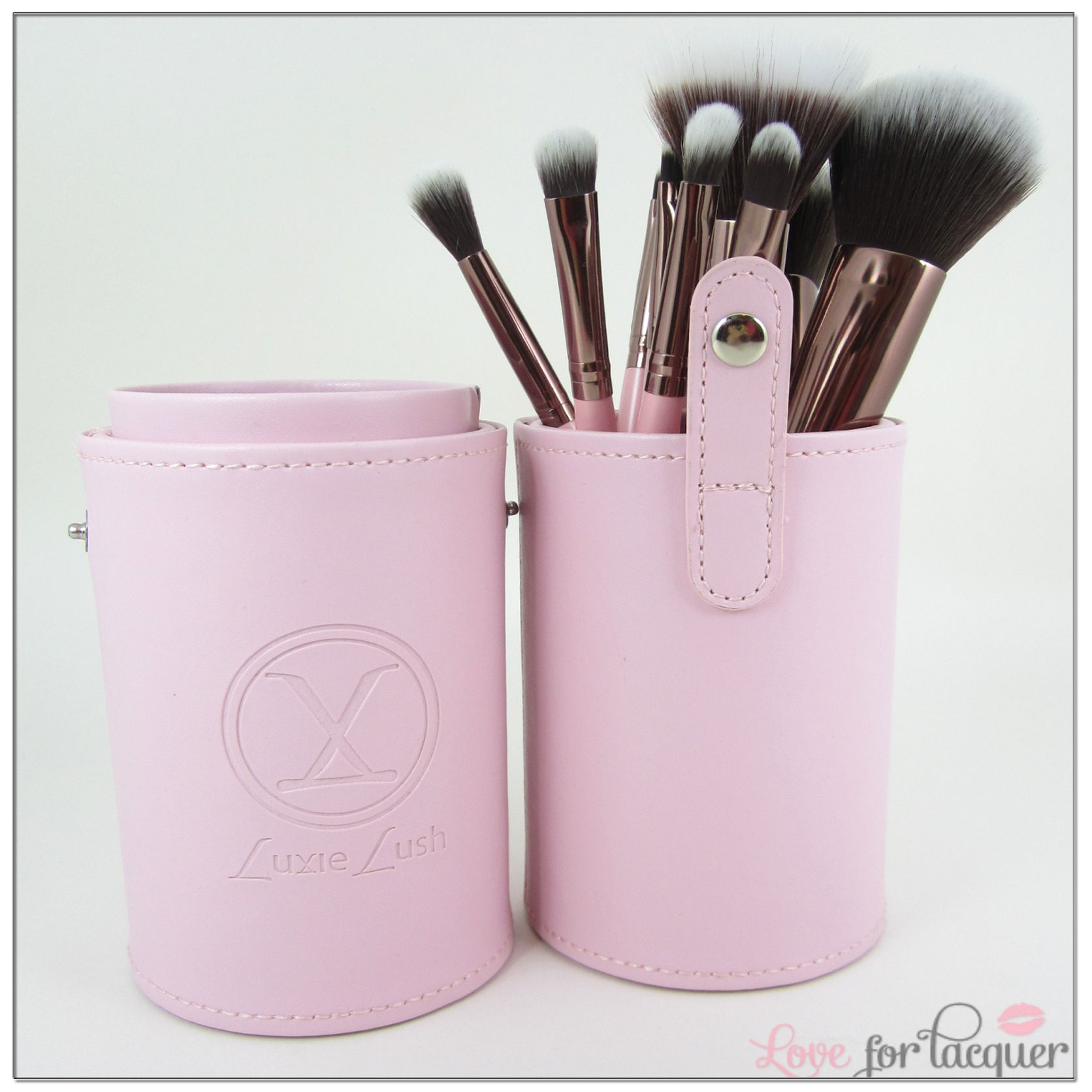 AS SEEN IN Luxie Lush Pink Perfection Synthetic Makeup