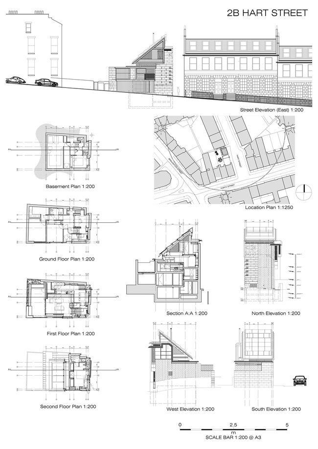 Murphy House At Hart Street Plans Image © Architects: K2 Wiring Diagram Darmond At Eklablog.co