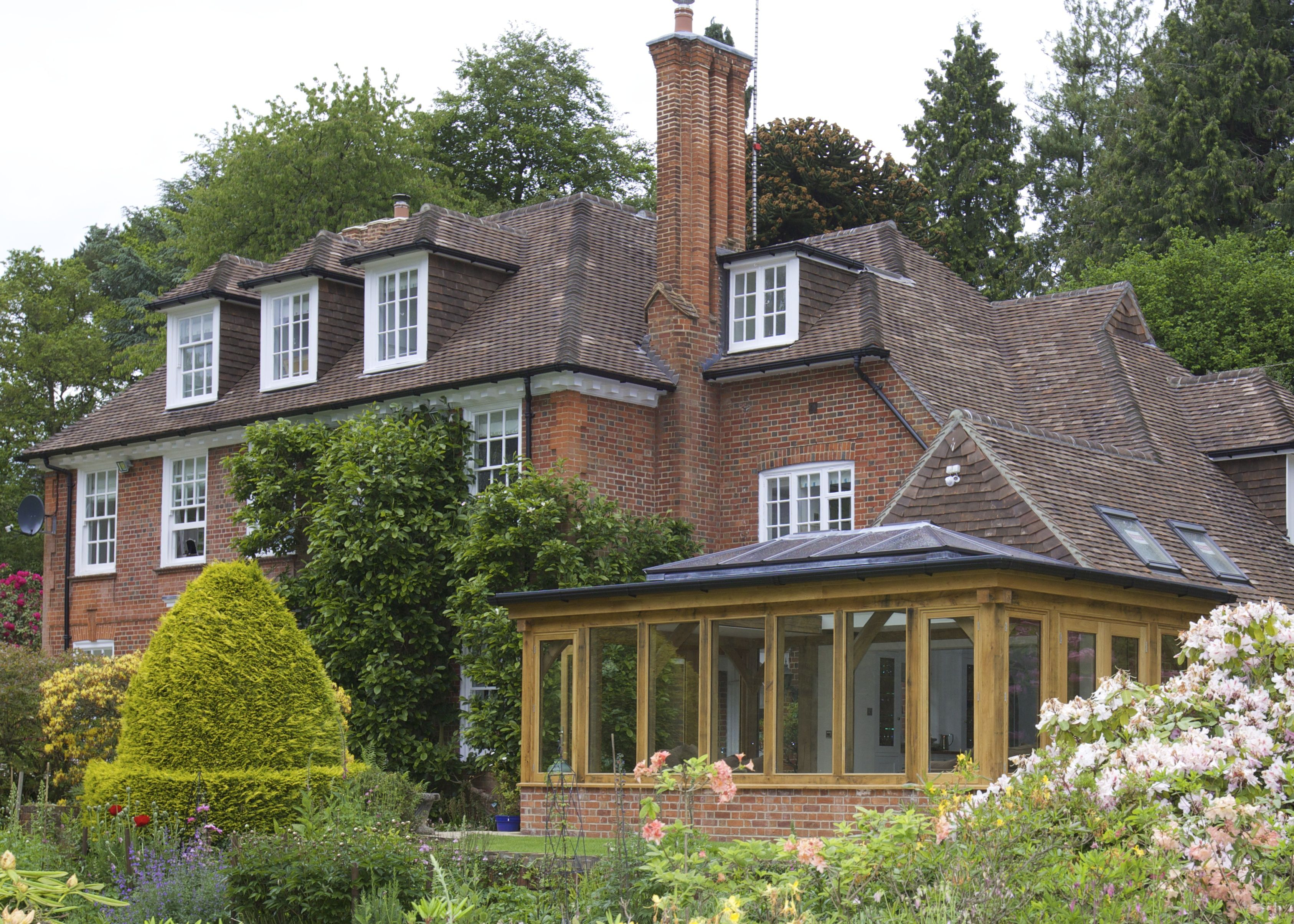 An orangery is the perfect addition to any home, large or