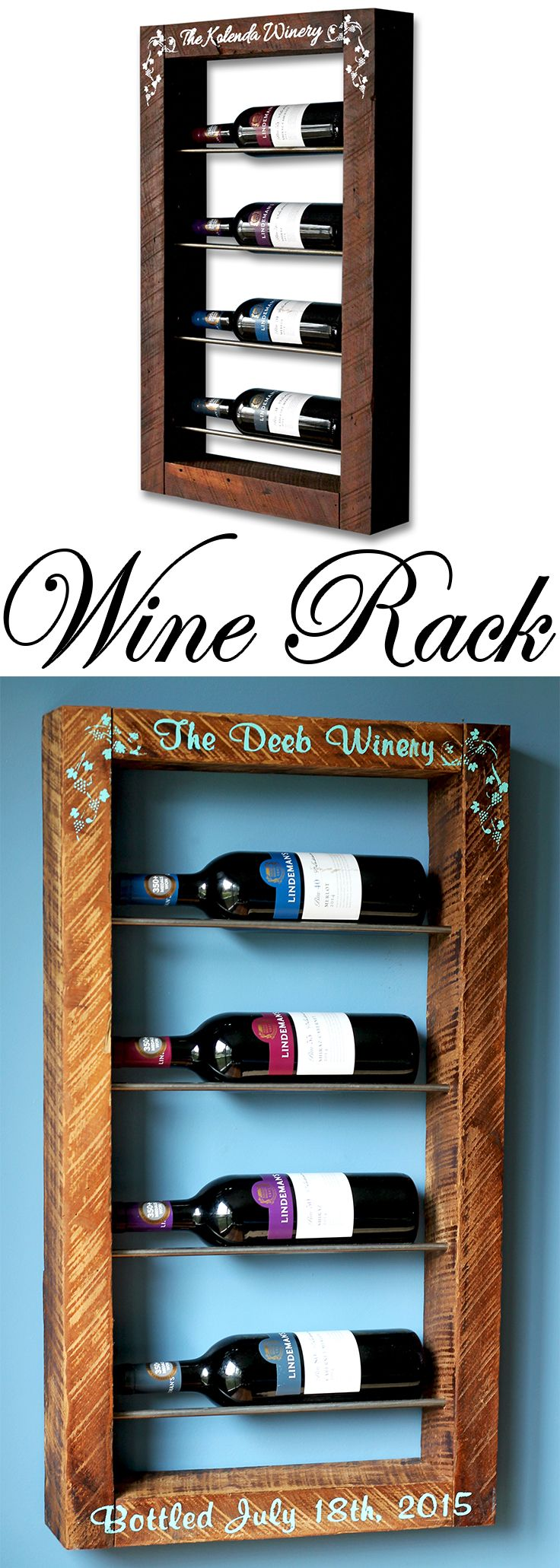 Wine Rack   Dreaming of New Creations   Pinterest   Rustic kitchen ...