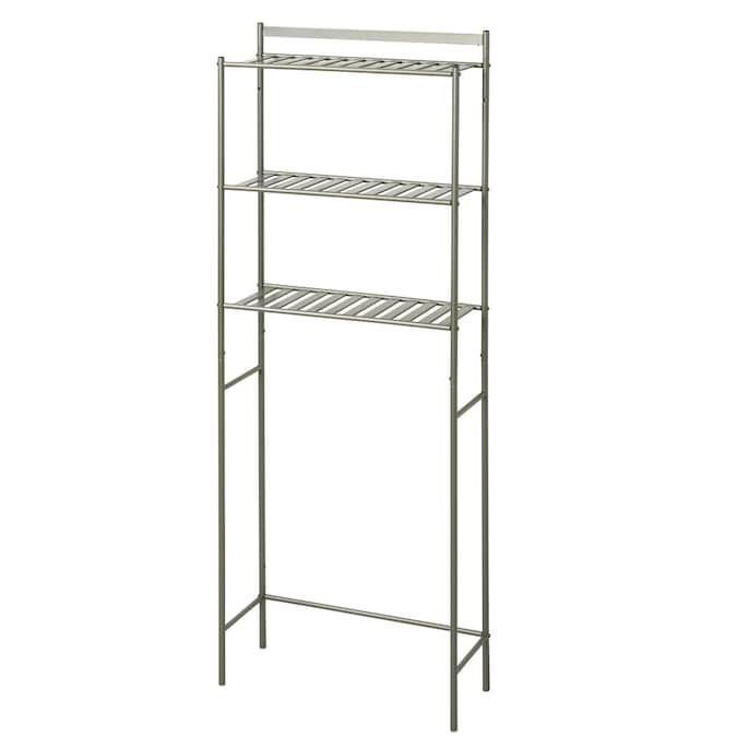 Zenna Home Slat Style 22.8-in W x 61-in H x 8.88-in D Etageres in the Etageres department at Lowes.com