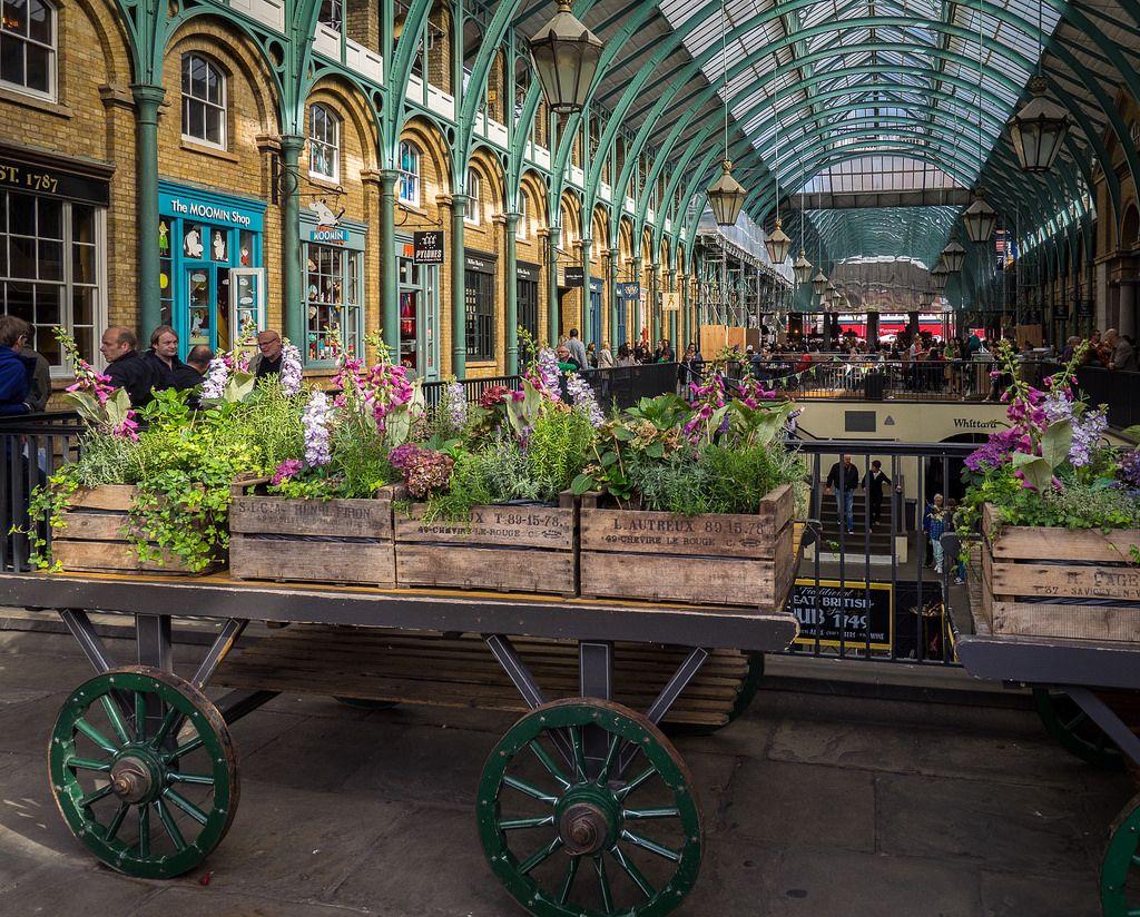 Covent Garden Market, London in 2019 Covent garden