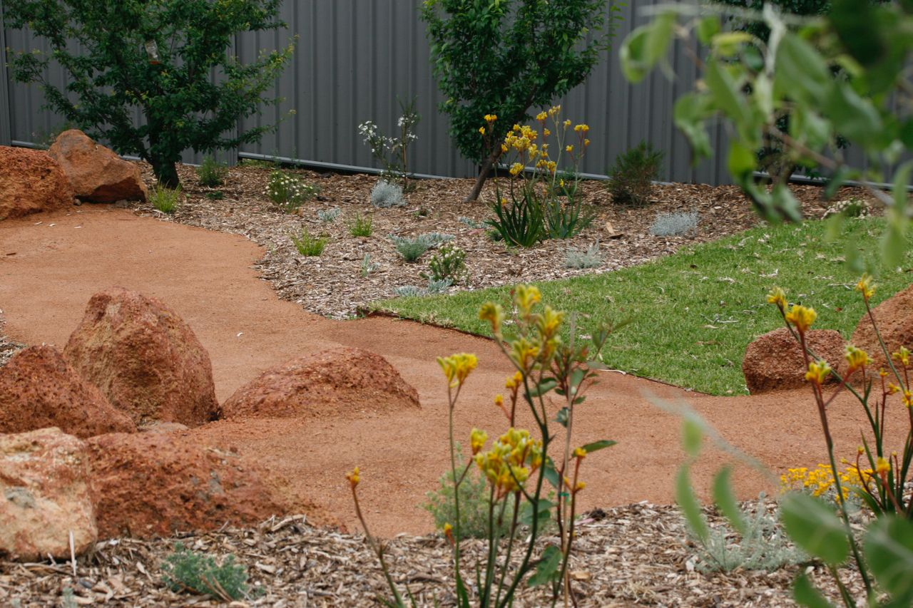 Natural Perth Hills Australian Garden Design Redbird Design Australian Garden Design Australian Garden Garden Design