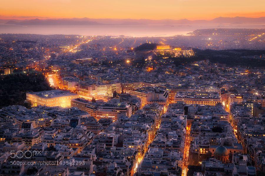 Popular on 500px : Athens by meleahreardon