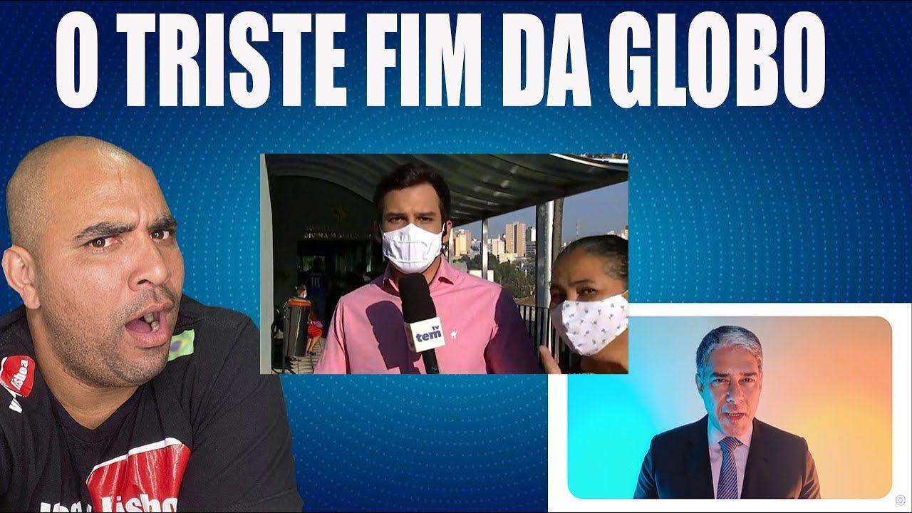 VERGONHA !! Mulher invade link ao vivo da Rede Globo e