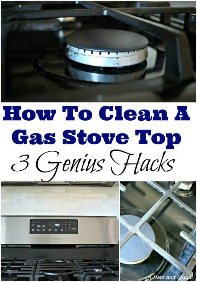 How To Clean A Gas Stove Top - 3 Genius Hacks