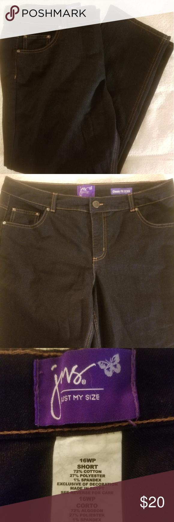 7a7b6c81d1a Women s JMS Petite Plus Size Jeans. NWOT. Women s JMS Petite Plus Size Jeans  NWOT. Women s Just My Size