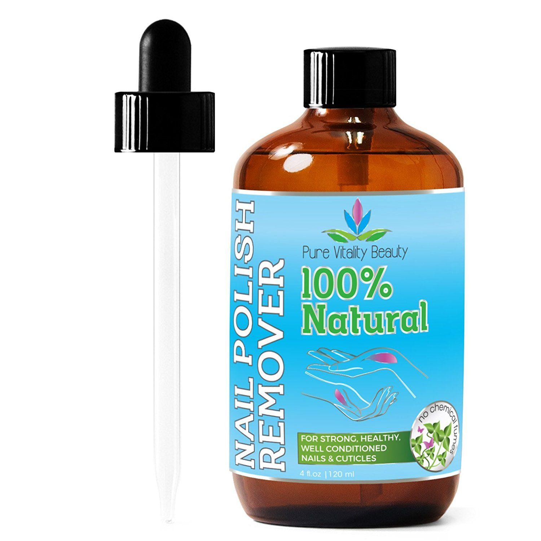 Nail Polish Remover - 100% NATURAL and Plant Based - USDA ...