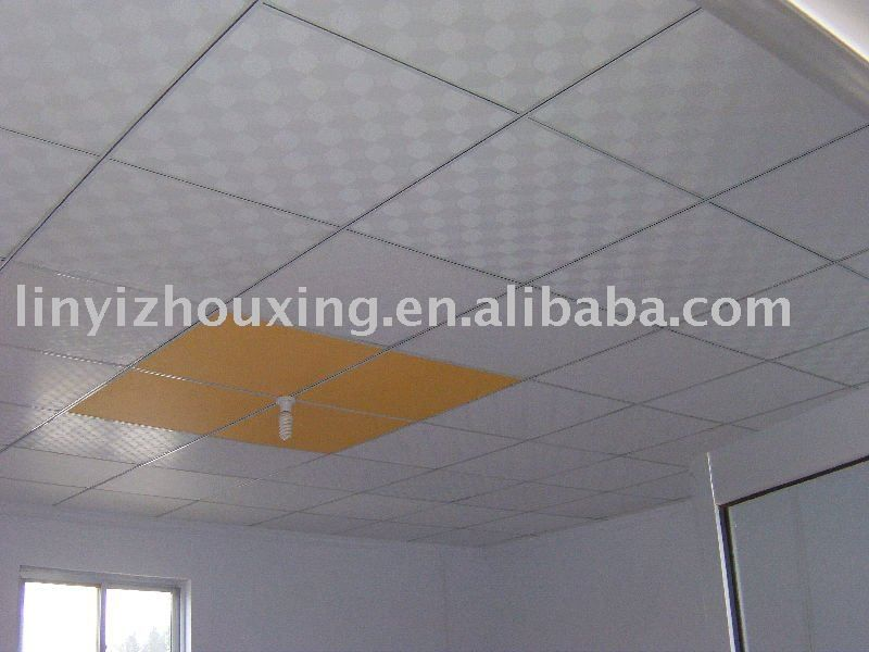 Pvc Gypsum Ceiling Tiles Gypsum Ceiling Ceiling Tiles Ceiling Design