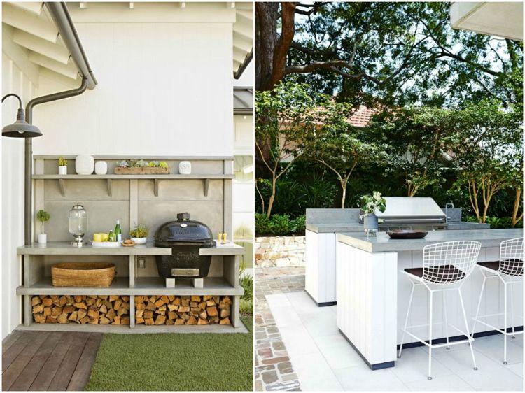 Outdoor Küche Aus Beton Selber Machen : Gartenpavillon aus beton im puristischen stil konzipiert