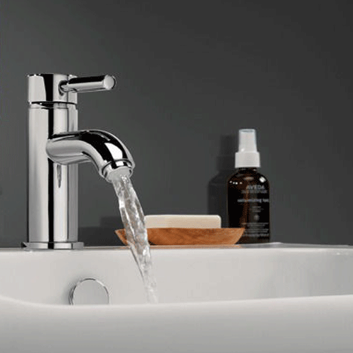 Fusion Basin Mixer Tap With Flip Top Waste Basin Mixer Taps Basin Mixer Sink Mixer Taps
