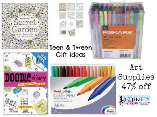 Art supplies tween and teen gift ideas easter gift ideas art easter gift ideas art supplies tween teen girl gift ideas up to off a thrifty mom recipes crafts diy and negle Gallery