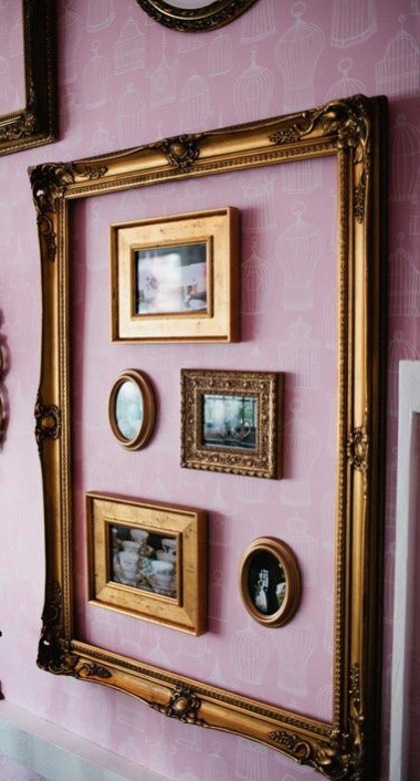 25 Best Diy Picture Frame Ideas Beautiful Unique And Cool Picture Frame Decor Frames On Wall Frame Decor