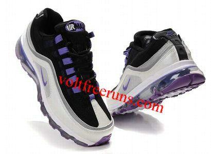 innovative design 70e9b 9f27f O6013 Nike Air Max 24-7 Men s Shoe White Black Purple
