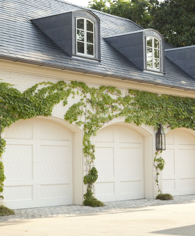 Garage Door Landscaping Ideas: Howard Design Studio Portfolio Landscape Garden Grounds